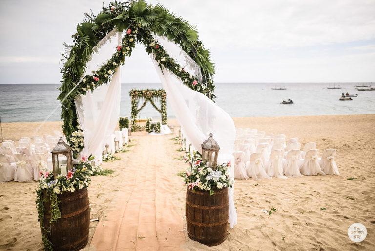 Acuaverde Beach Wedding Allen Ann